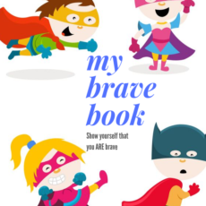 My Brave Book - Journal for kids with anxiety