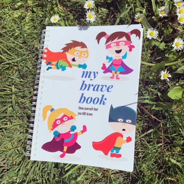 My Brave Book on grass